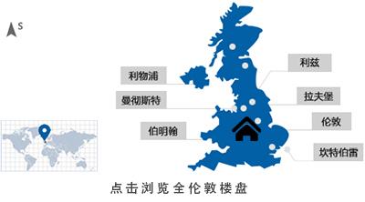 英国房产伦敦地图