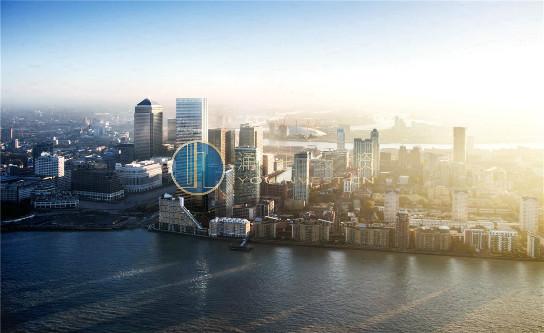 英国伦敦金丝雀码头房产水域铂景